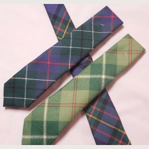100/% Wool Traditional Tartan Neck Tie Montgomerie Ancient