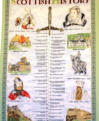 Scottish History - Tea Towels-0