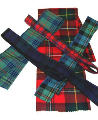 Wool Ribbon - Set of 5 Lengths-0