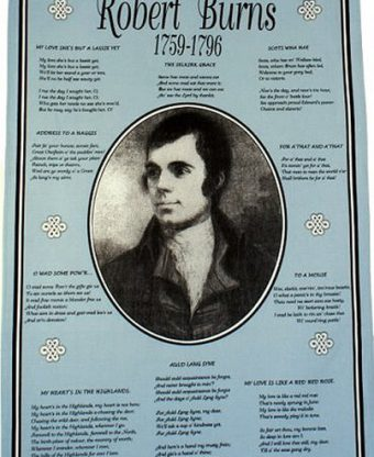 Robert Burns - Tea Towel-0