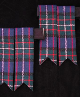 13oz Kilt weight Tartan Flashes-0