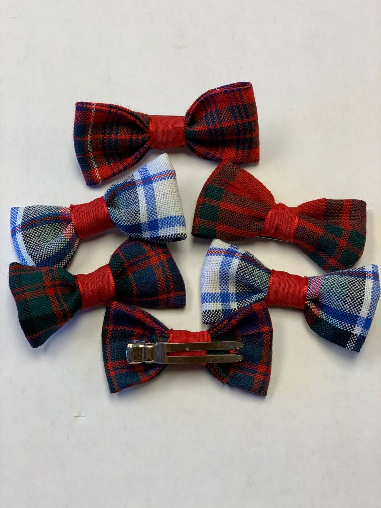 Mens Bow Tie Woven in Scotland MacPhail Hunting Ancient Tartan